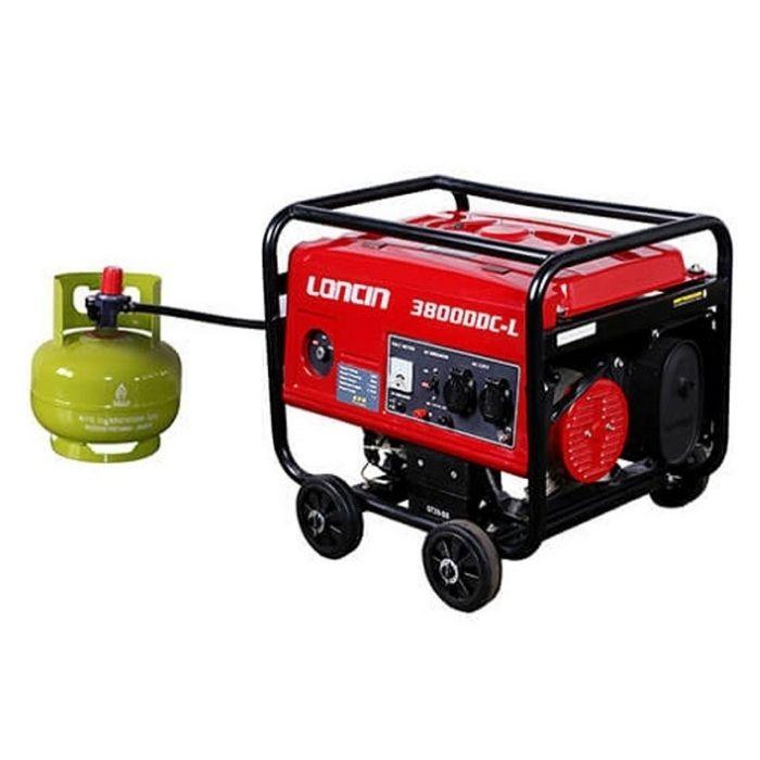 Genset Gas LPG